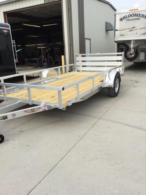 2020 H and H Trailer H8214RSA-030 Utility Trailer
