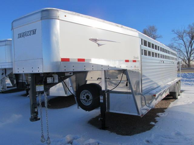 2019 Travalum Gooseneck Stock Trailer
