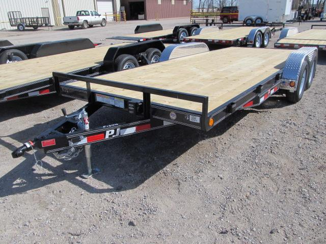 "2019 PJ Trailers 83"" x 18 Car Hauler"