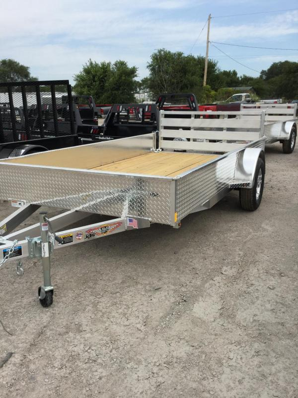 2020 H and H Trailer H7612ssA-030 Utility Trailer