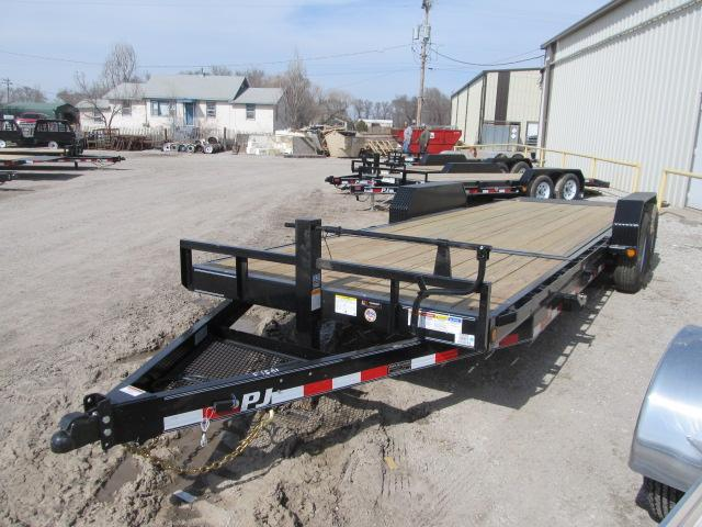 "2020 PJ Trailers 82"" x 22 Tilt Deck Car Hauler"