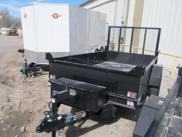"""2019 H and H 66"""" x 10 Utility Dump Trailer"""