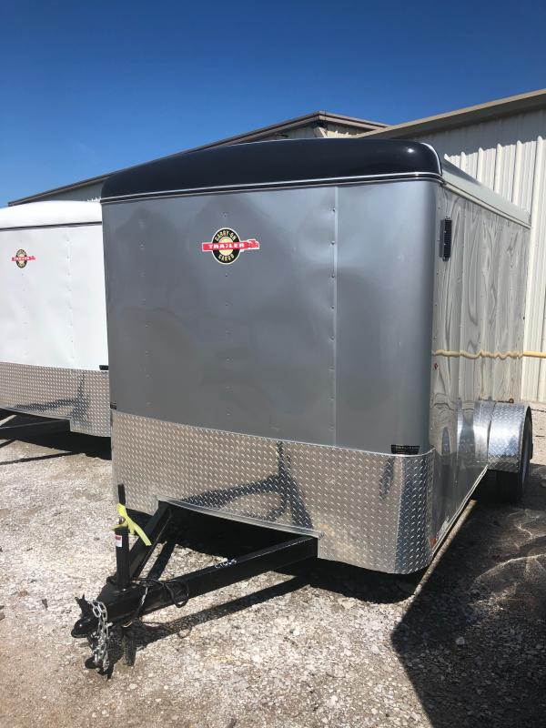 2019 Carry-On 7X12CGR1AXLE Enclosed Cargo Trailer