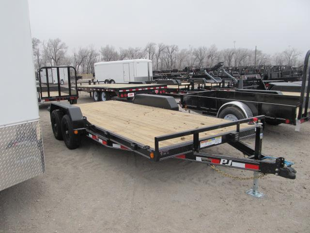 "2019 PJ Trailers 83"" x 18 Equipment Trailer"