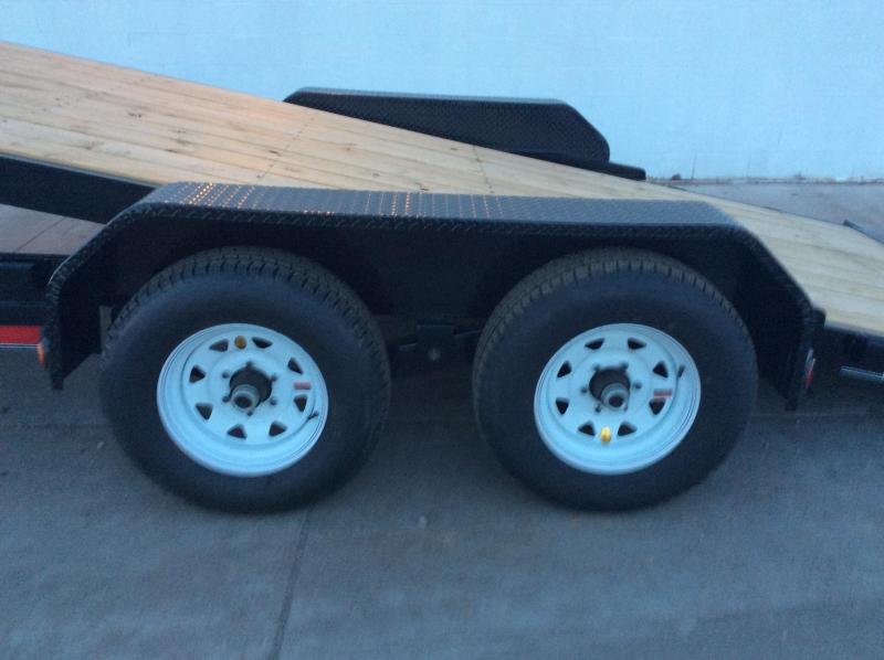 "2016 PJ Trailers 18' x 83"" Manual Tilt Trailer"