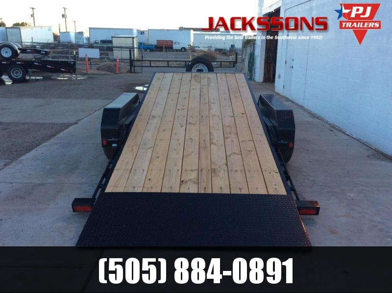 "2019 PJ Trailers 18' x 83"" Manual Tilt Trailer"