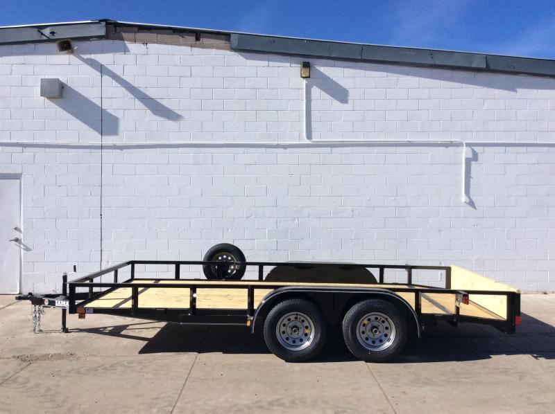 2019 Lamar 18FT UTILITY Flatbed Trailer