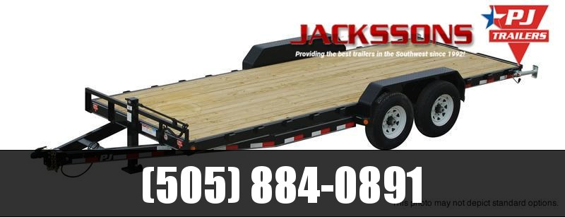 "2018 PJ Trailers 18' x 6"" Channel Equipment Trailer"