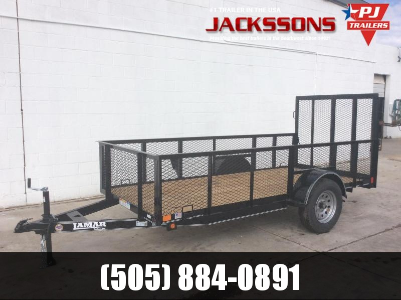 2019 Lamar Trailers 5X12 2FT SIDES Utility Trailer