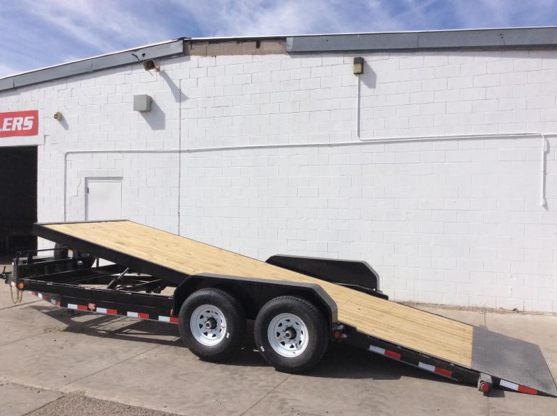 2018 PJ Trailers 20' Powered Full Tilt Trailer