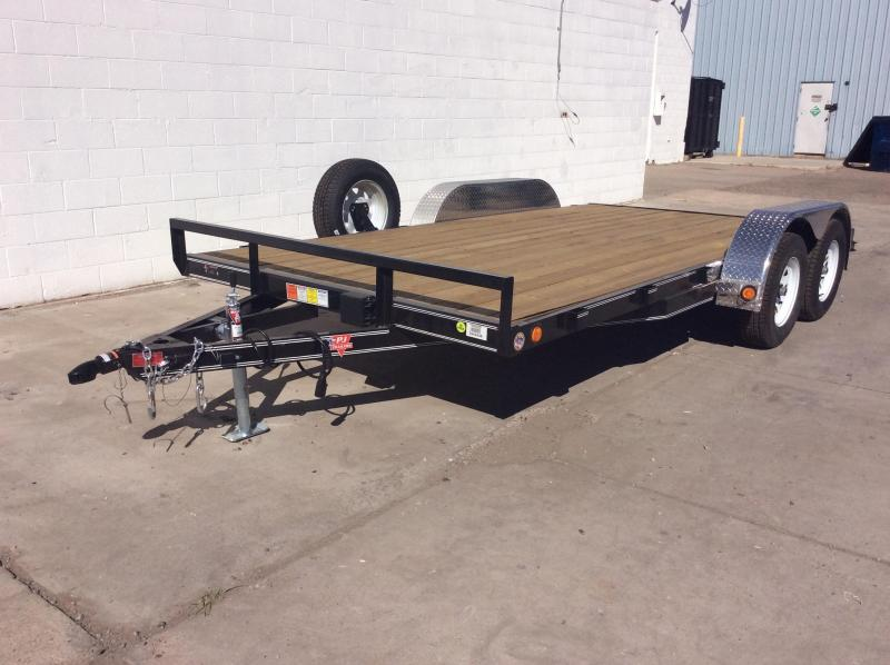 "2016 PJ Trailers 16' x 4"" Channel Carhauler Trailer"