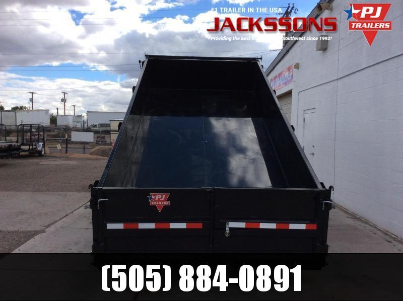 "2019 PJ GN 14' x 83"" Tandem Axle Dump Trailer"
