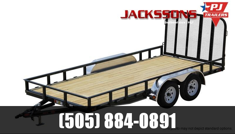 "2019 PJ Trailers 18' x 83"" Channel Utility Trailer"