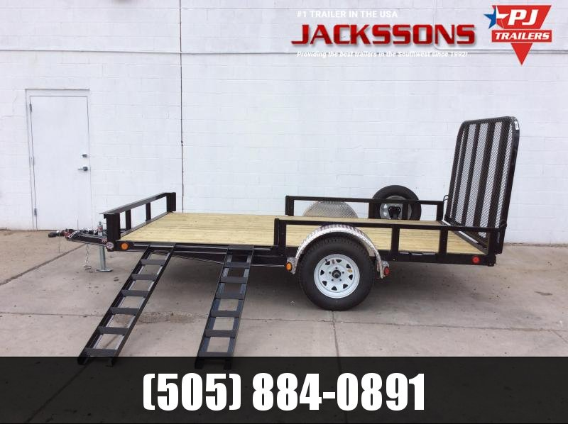 "2019 PJ Trailers 14' x 72"" Channel Utility Trailer"