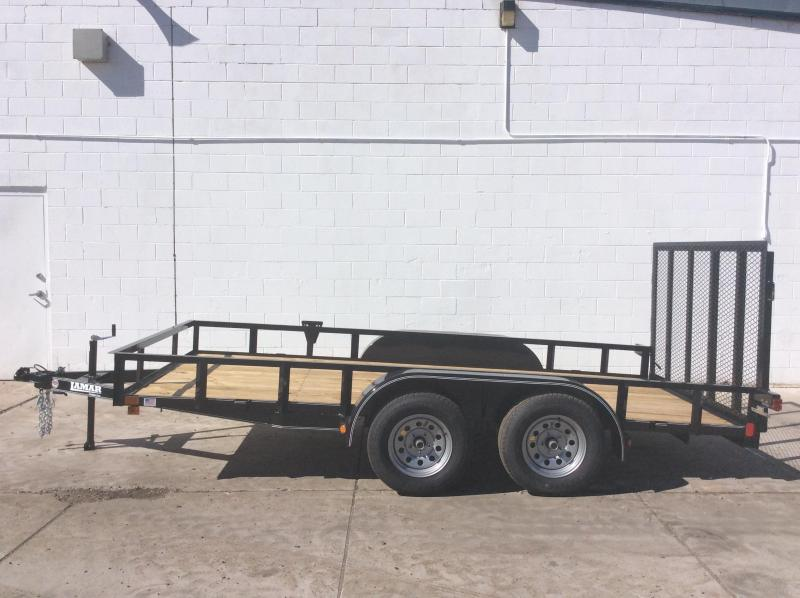"2018 16' x 83"" Channel Utility Trailer"