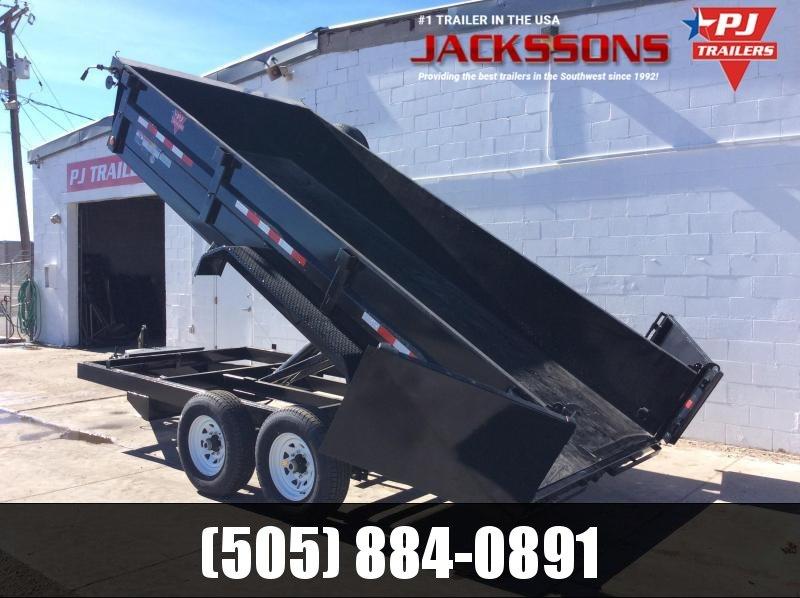 "2019 PJ Trailers 12' x 83"" Tandem Axle Dump Trailer"