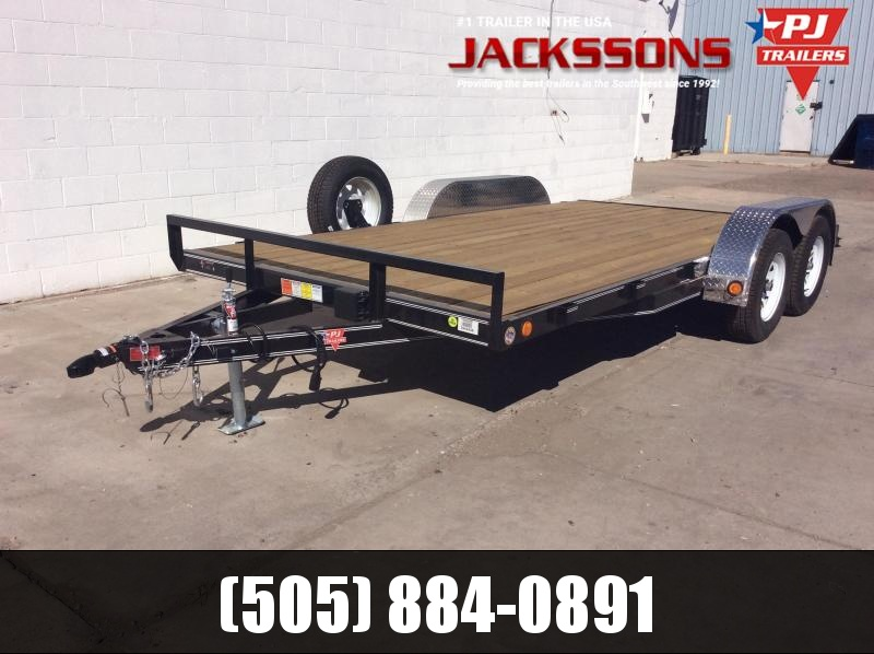 "2019 PJ Trailers 20' x 5"" Channel Carhauler Trailer 10k"