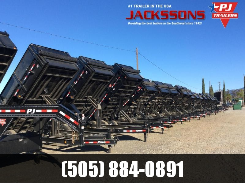 "2018 PJ GN Trailer 14' x 83"" High Side Dump Trailer"