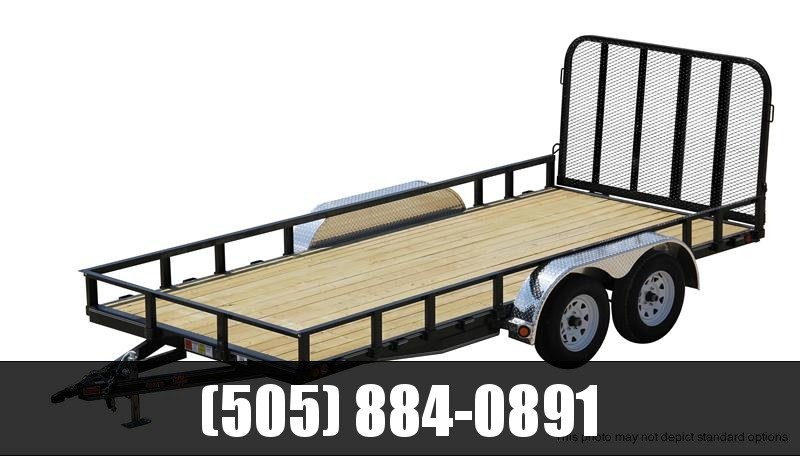 "2018 PJ Trailers 22' x 83"" Channel Utility Trailer"