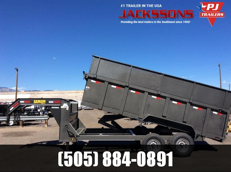 2019 Lamar 16FT  DUMP TRAILER