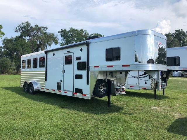 2020 Exiss Trailers 4 horse w/8.5' lq Horse Trailer