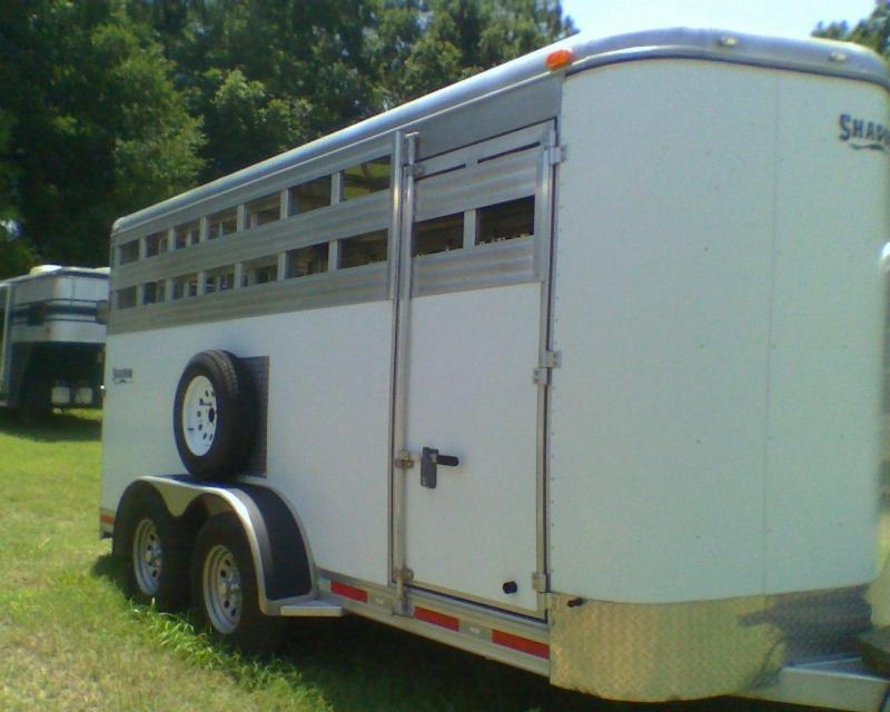 2008 Shadow Trailers stock 16 bumper pull Horse Trailer