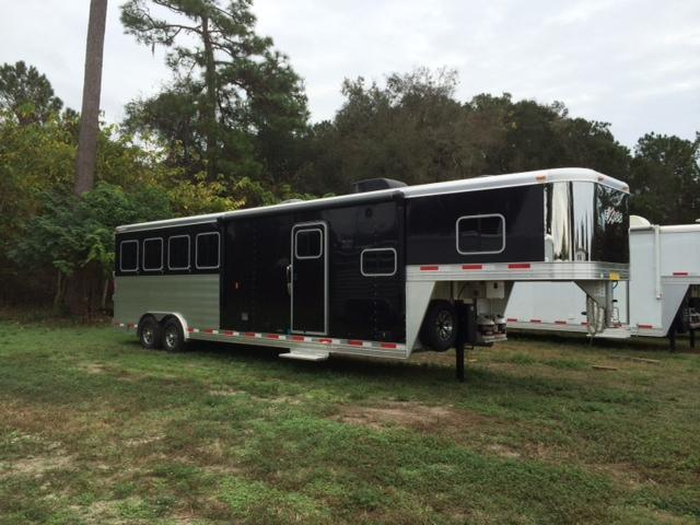 2016 Exiss Trailers 8 wide 4 horse w/ 10