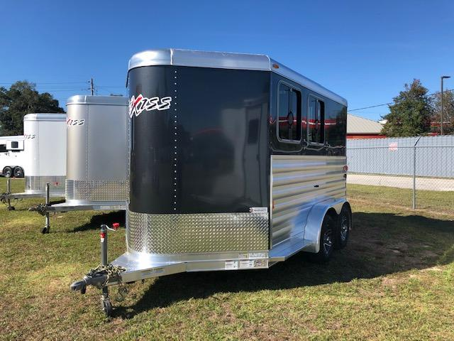 2019 Exiss Trailers 2 horse w/dressing room (model XT) Horse Trailer