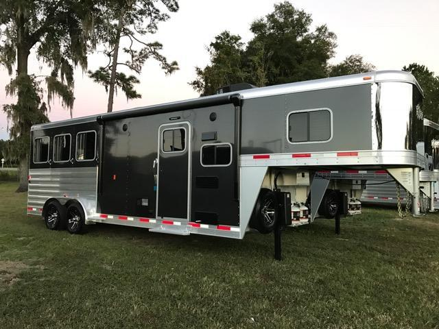2019 Exiss Trailers 7308 Horse Trailer