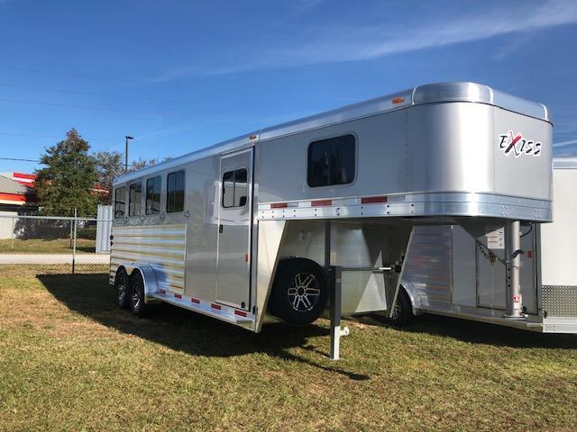 2019 Exiss Trailers 4 horse gooseneck XT with dressing room Horse Trailer