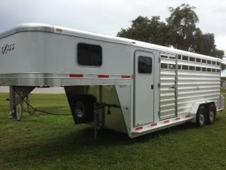 2016 Exiss stock combo 24 Horse Trailer