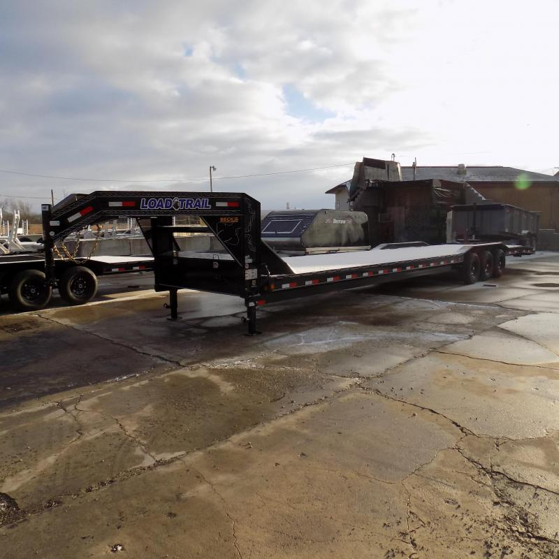 """New Load Trail 102"""" x 40"""" Triple Axle Gooseneck Car Hauler / Equipment Trailer - $0 Down & Payments From $145/mo. W.A.C."""