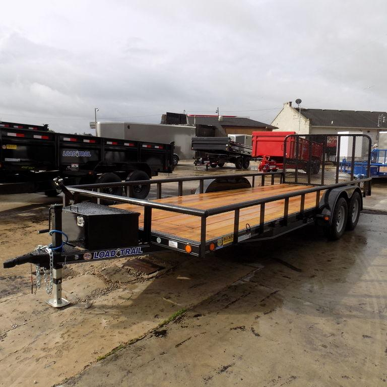 "New Load Trail UT 83"" x 20' Open Utility Trailer On Sale"