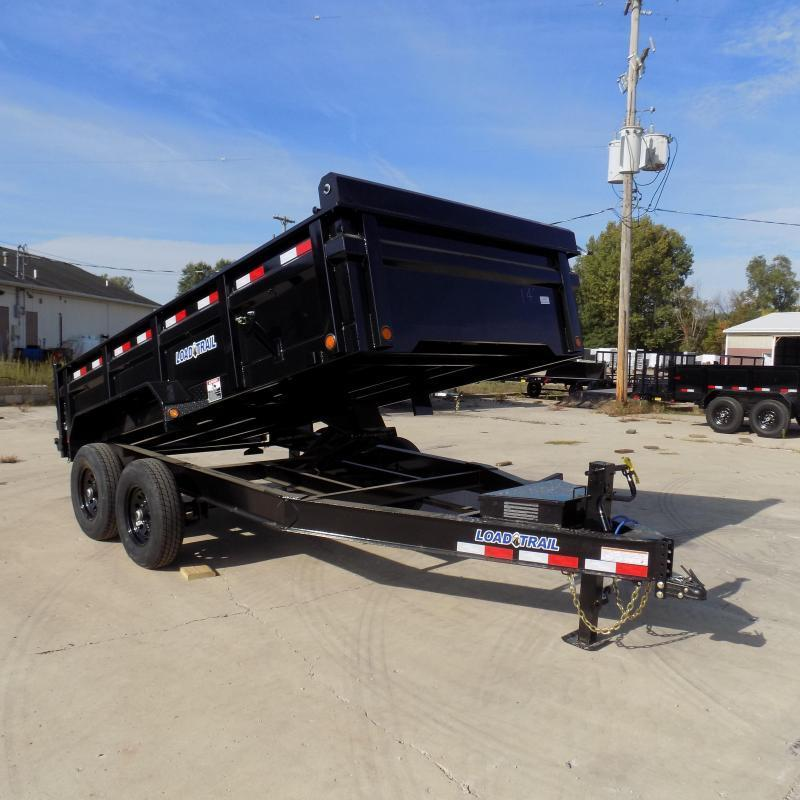 "New Load Trail DT14 83"" x 14' Dump Trailer for Sale - $0 Down & Payments from $159/mo. W.A.C. - Best Deal Guarantee"