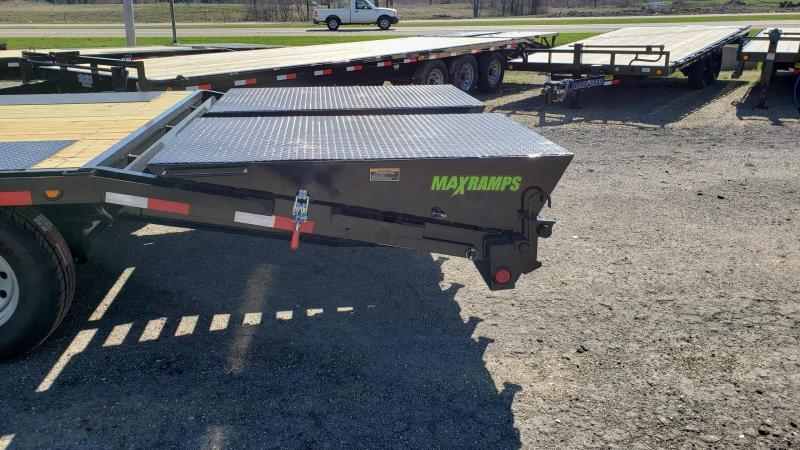 """New Load Trail PS14 102"""" x 24' Flatbed Equipment Trailer"""