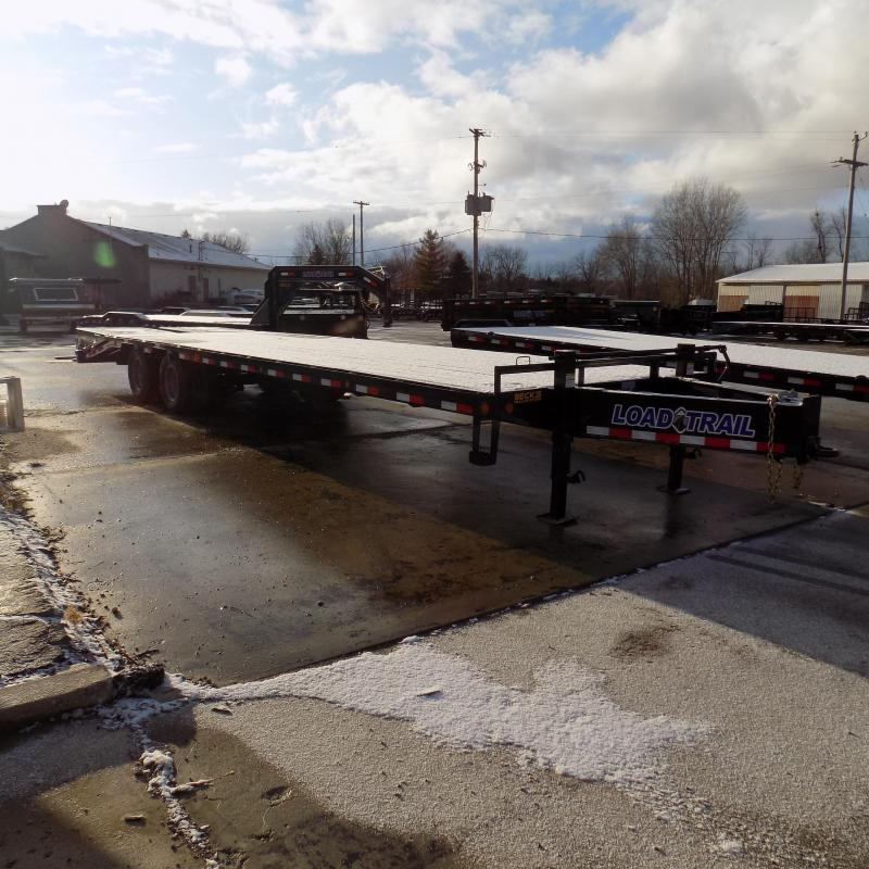 """New Load Trail PH21 102"""" x 32' Flatbed Trailer With Tandem 12K Axles & Max Ramps - $0 Down & Payments From $185/mo. W.A.C."""