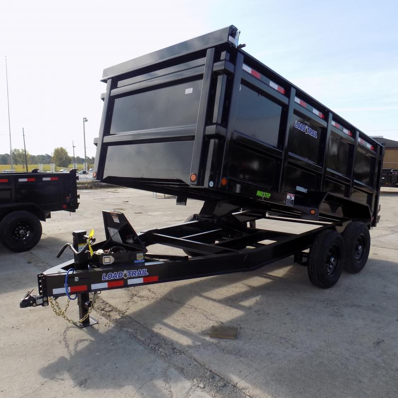 """New Load Trail DT14 83"""" x 14' Dump Trailer W/ 48"""" Sides - Payments from $125/mo. W.A.C."""