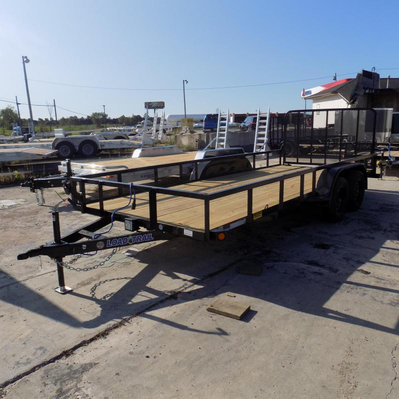 "New Load Trail 83"" x 18' Utility Trailer For Sale"