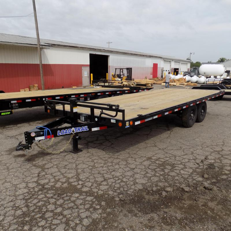 """New Load Trail DK14 102"""" x 20' Deckover Trailer for Sale"""