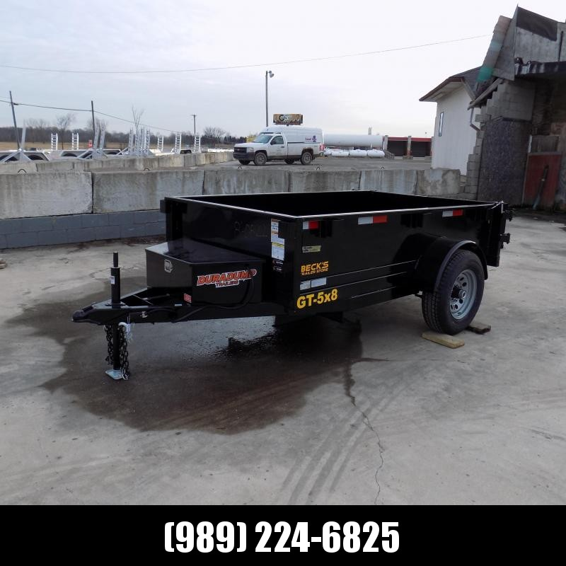 New DuraDump 5' x 8' Dump Trailer For Sale - $0 Down & Payments From $89/mo. W.A.C.