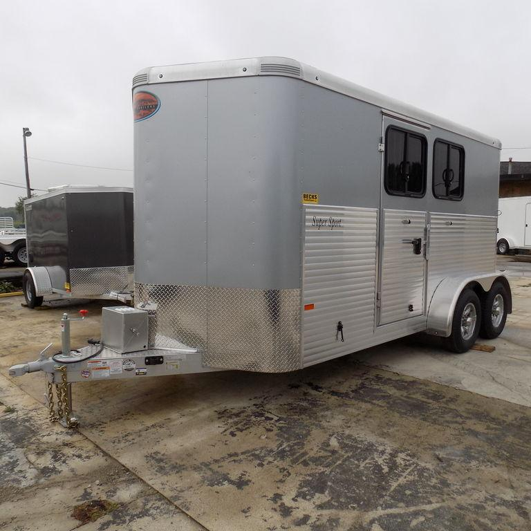 New Sundowner Trailers Super Sport Bumper Pull 2 Horse