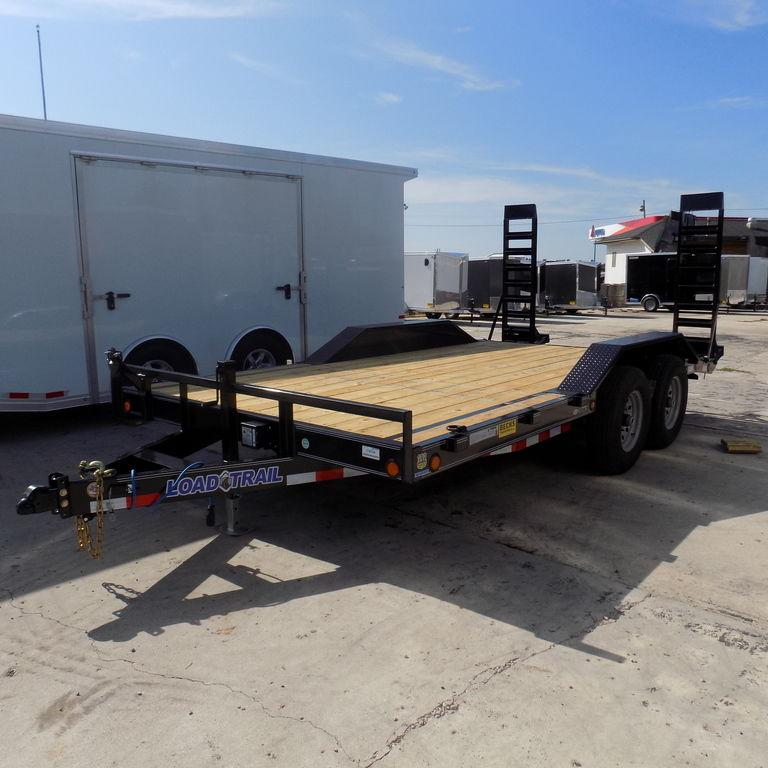 "New Load Trail102"" x 16' Open Car/Equipment Hauler With 7k Axles"