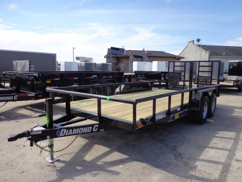 New Diamond C Trailers TUT82X18TA52 Utility Trailer
