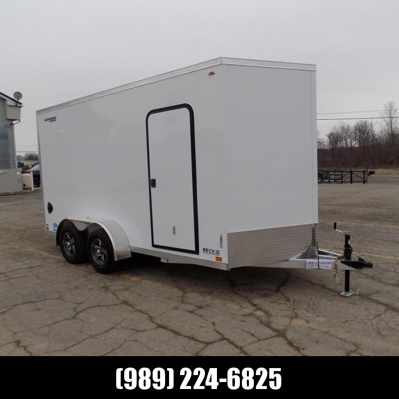 New Legend Thunder 7' X 16' All Aluminum Enclosed Cargo Trailer For Sale - $0 Down Payments From $105/MO W.A.C