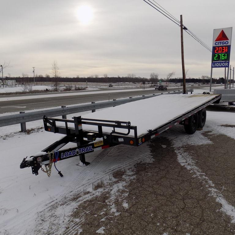 "New Load Trail DK14 102"" x 20' Deckover Trailer - 14K Weight Rating"