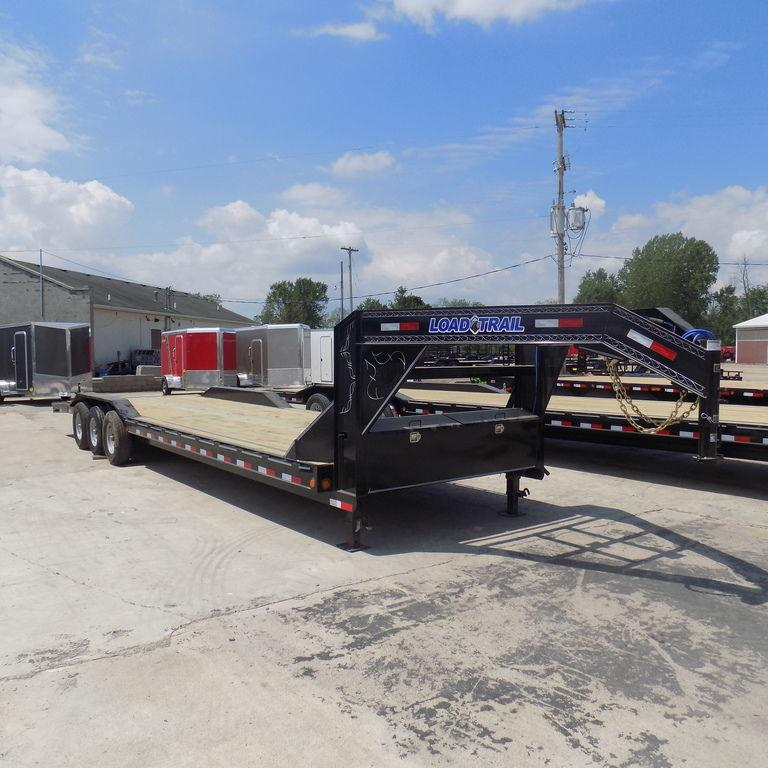 "New Load Trail 102"" x 32' Triple Axle Gooseneck Trailer For Sale"