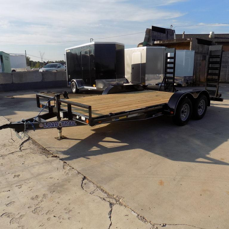 "New Load Trail CH07 83"" x 16' Open Car Hauler On Sale"