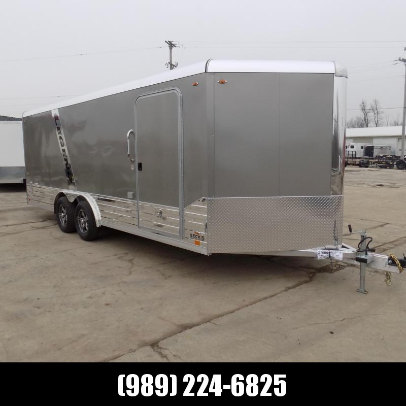 New Legend Deluxe V-Nose 8' x 23' Enclosed Cargo Trailer - $0 Down & $135/mo. W.A.C.