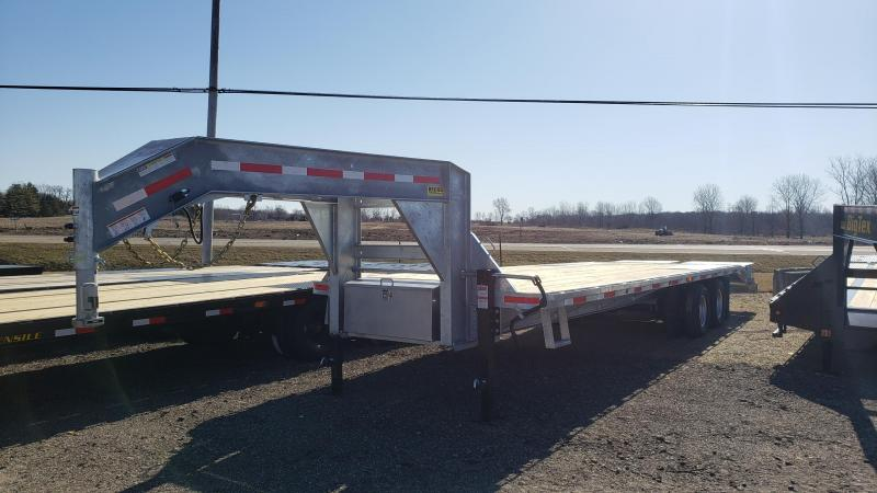 New Galvanized GND255 Equipment Trailer