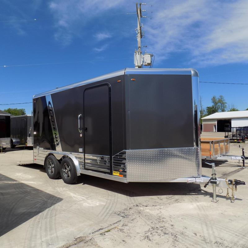 New Legend Deluxe V-Nose 8' x 17' Enclosed Cargo Trailer - LOADED!
